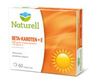 NATURELL BETA-KAROTEN + E ,60 TABL.