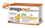 Omegamed Baby+D - 60 kaps. twist-off