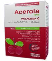 ACEROLA PLUS - 60 TABL. DO SSANIA