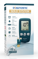 GLUKOMETR DIAGNOSTIC GOLD ZESTAW