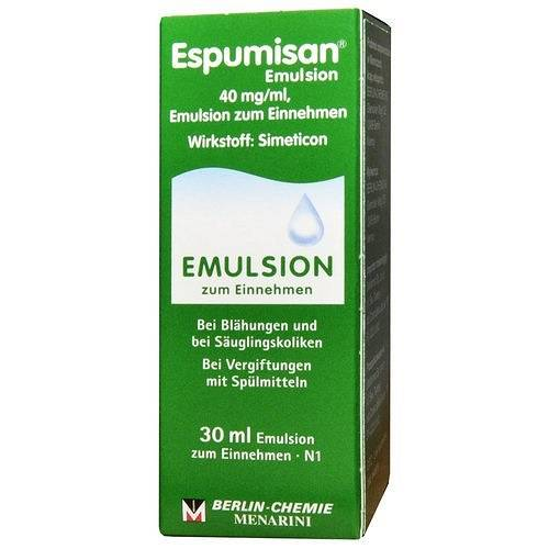 ESPUMISAN EMULSJA 40MG/ML /IMPORT RÓWNOLEGŁY/ DELFARMA 30ML