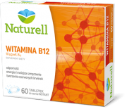 NATURELL WITAMINA B12 - 60 TABL. DO SSANIA