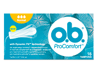 OB ProComfort Normal - tampony 16 szt.