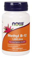 NOW FOODS Methyl B12 1000 mcg 100 tabl do ssania