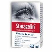 STARAZOLIN KROPLE DO OCZU 10 ML (2 X 5ML)
