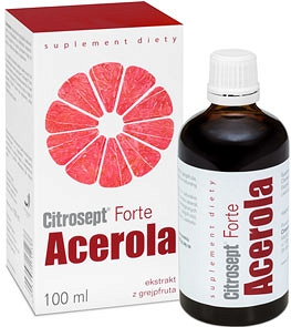 CITROSEPT FORTE ACEROLA KROPLE 100ml