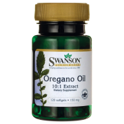 SWANSON Oregano Oil 150 mg - 120 kapsułek