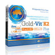 GOLD-VIT K2 PLUS - 30 KAPS.